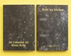 Archiv aus Schriften der Universität der Künste Berlin